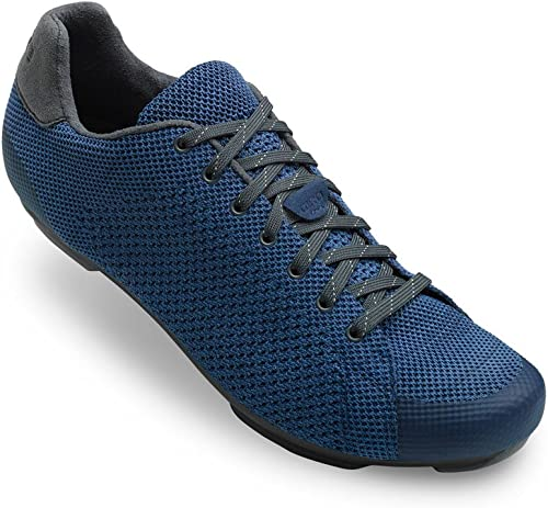 Giro Republic R Knit Road, Chaussures de Vélo de Route Homme, MultiCouleure (Midnight bleu Heather 000), 44.5 EU