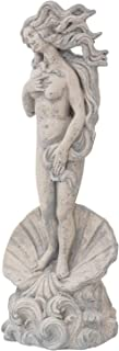 aubaho Escultura réplica Venus Botticelli Figura Estatua Piedra Artificial jardín