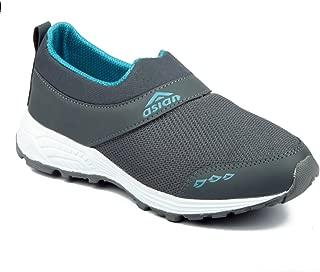 Asian shoes Future-04 Grey Firozi Men Sports Shoes