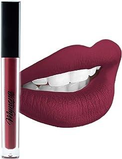 Sponsored Ad - Mynena Maroon Waterproof Matte Liquid Lipstick - Rosy