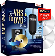 roxio easy vhs to dvd 3 plus pc