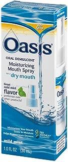 Oasis Moisturizing Mouth Spray Mild Mint 1 oz (Pack of 5)