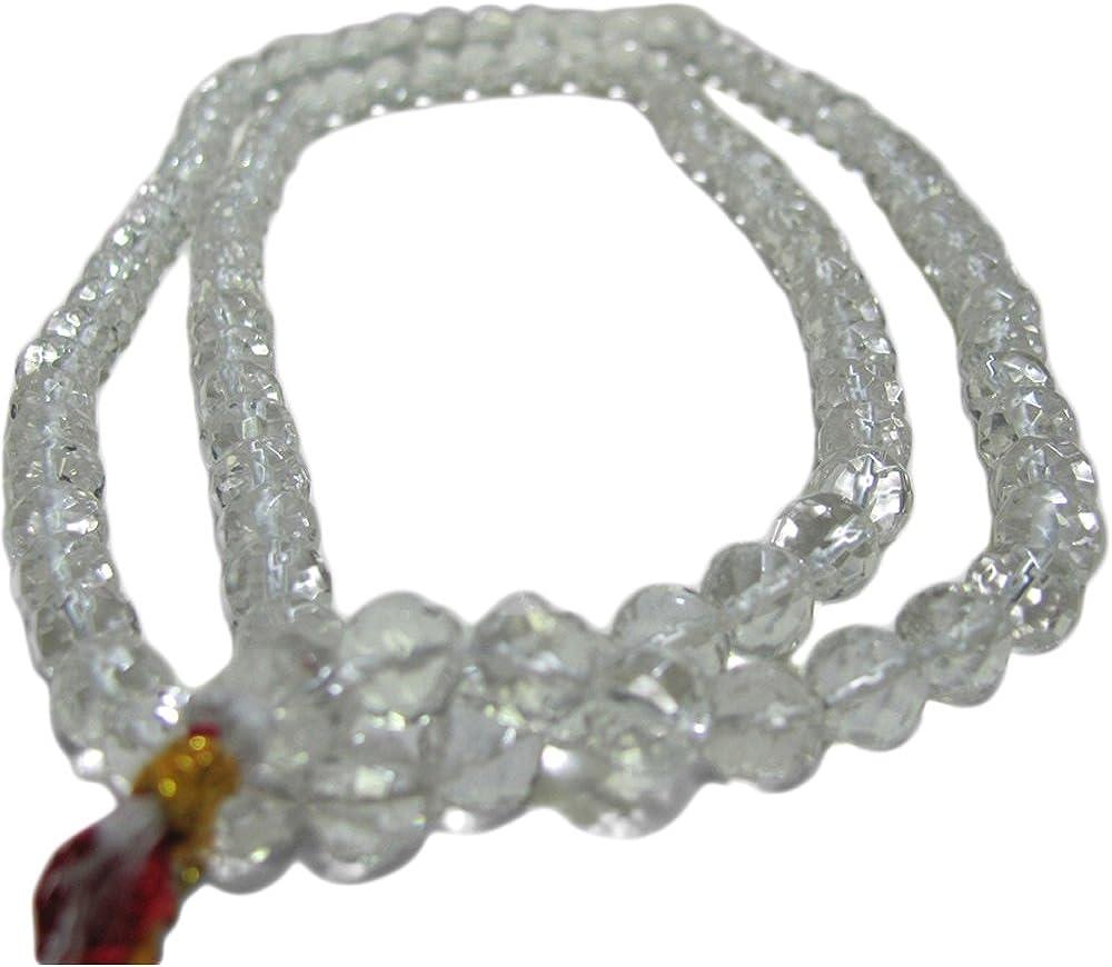 Yoga Trendz 108 Sphatik Quartz Mal Crystal Tibetan Popular overseas Japa Indianapolis Mall Buddhist