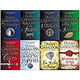 Diana Gabaldon Outlander Series 8 Books Collection Set (Outlander,Dragonfly in Amber,Voyager,Drums of Autumn,Fiery Cross,Breath of Snow and Ashes,An Echo in the Bone,Written in My Own Hearts Blood)