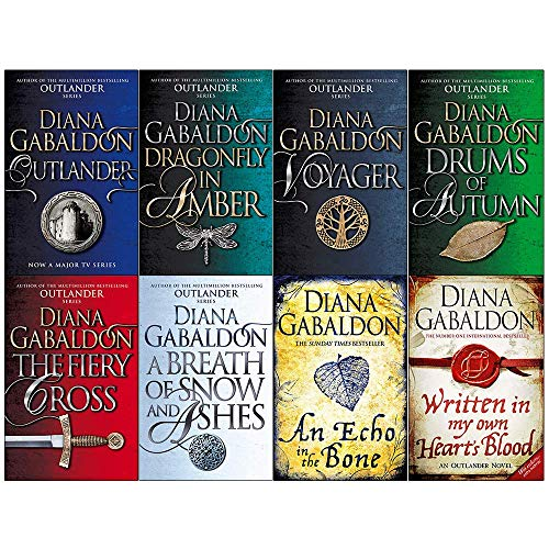 Diana Gabaldon Outlander Series 8 Books Collection Set - Book  of the Outlander