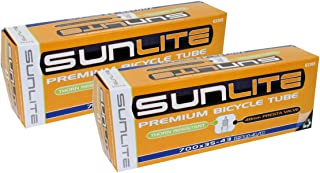Thorn Resistant Tube - 700x35-43 (27x1-3/8) Presta 48mm, Sunlite …