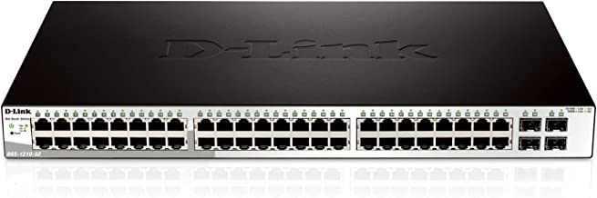 D-link Websmart Gigabit Switch with 48 1000Base-T and 4 SFP Ports DGS-1210-52