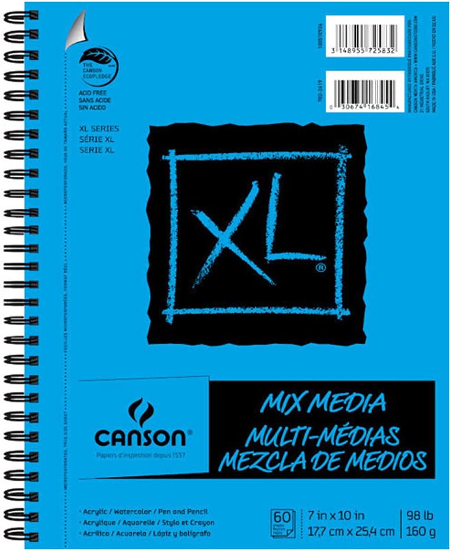 CANSON XL MIX MIX MIX MEDIA PAD 7 x 10 6 Stück B00M4GT26G | Deutschland Shop  79df93