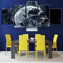 ZJZNB afbeelding op canvas, 5 panelen, motief: doo...