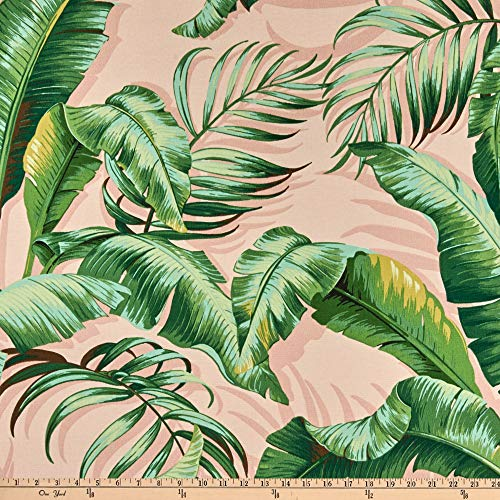 Tommy Bahama Indoor/Outdoor Palmiers BlushFabric by the Yard