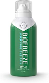 Biofreeze Pain Relief Spray, 3 oz. Aerosol Spray, Colorless