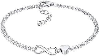 Elli Bracelet Women Heart Love Intertwined in 925 Sterling Silver