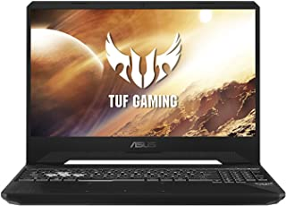 Asus TUF Gaming FX505DV-AL110T TUF Gaming  Laptop (Black) - AMD R7-3750H 2.3GHz, 16 GB RAM, 1TB HDD + 512GB SSD, Nvidia GeForce RTX 2060, 15.6 inches 120Hz Refresh Rate,Windows 10, Eng-Arb-KB
