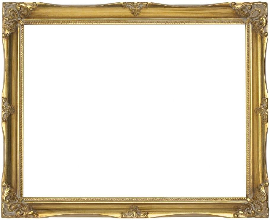 16 x 20 3 Ornate Baroque Gold and Black Painted Wood Picture Frame Shabby Chic  Victorian Antique Style 16x20