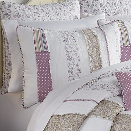 Donna Sharp Pillow Max Cheap sale 43% OFF Sham - Contemporary Rail Decorative Lavender