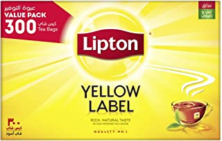 Lipton Yellow Label Black Tea, 300 Teabags