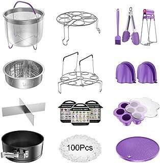 VersionTech. Accesorios para Instant Pot - Set de 17 piezas de accesorios para ollas de vapor, compatible con Instant Pot, ollas de vapor, vaporera, etc.