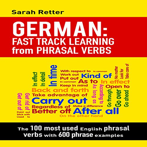 German: Fast Track Learning from Phrasal Verbs audiobook cover art