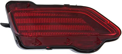 Bumper Reflector Rear Light Lamp Left Side Compatible with Toyota RAV-4 13-15