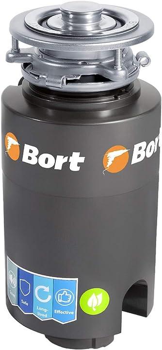 Dissipatore di rifiuti bort titan 4000. 1200 ml, 390 w, 0,5 cv, protezione contro l`inquinamento. B07JVC1P1N