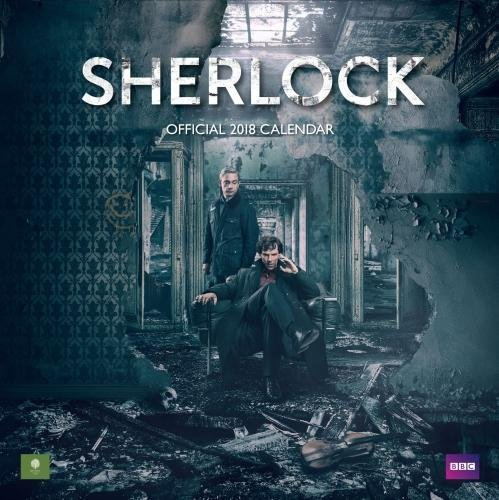 Sherlock - Official 2018 Square Wall Calendar
