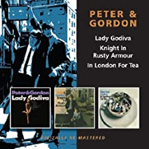 peter and gordon in london for tea