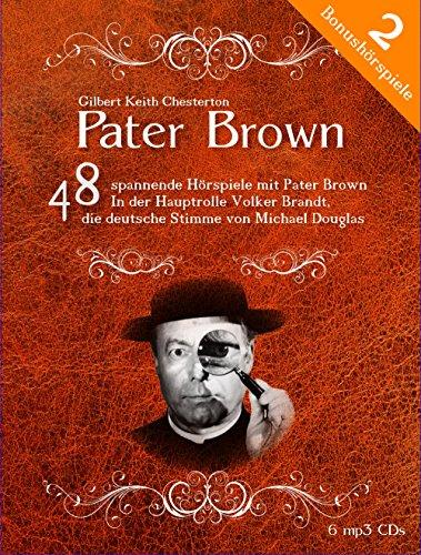 Die größte Pater Brown Hörspiel Edition - 48 Krimi-Hörspiele (6 mp3-CD)