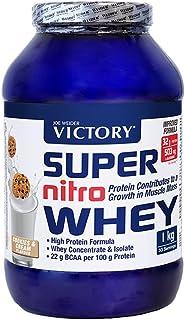 Victory Super Nitro Whey Cookies & Cream (1 kg). Concentrado y aislado