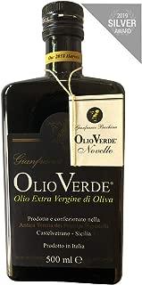 Gianfranco Becchina Olio Verde Extra Virgin Olive Oil, 2018 Harvest - 500 ML