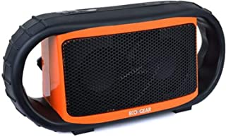 ECOXGEAR ECOXBT Rugged and Waterproof Wireless Bluetooth Speaker (Orange)