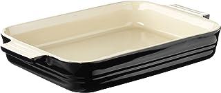 "Le Creuset Stoneware 12"" x 9.5"" 3 QT Rectangular Baker Baking Dish Color: Black Onyx"