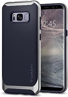 Capa Protetora Neo Hybrid Galaxy S8 Plus Spigen, Spigen, Capa Dupla Proteção Anti-Impacto, Arctic Silver