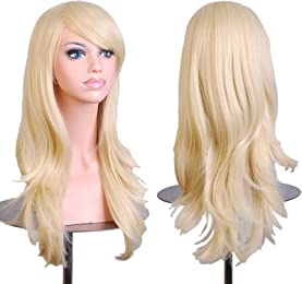 Best blonde wigs for cosplay