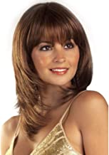 Asdfnfa Brown Wig for Women Straight Hairdresser for Girl Cosplay