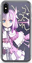 Beamm-Frost Compatible with iPhone 7/8 Case Miss Kobayashi's Dragon Maid Quetzalcoatl Kanna Tohru Anime Pure Clear Phone Cases Cover