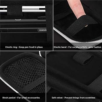 AGPTEK Case Holder for Apple Pencil 2, Premium Carrying Case for Stylus iPad Pro Pen, Pencil, Samsung, Huawei, Apple ...