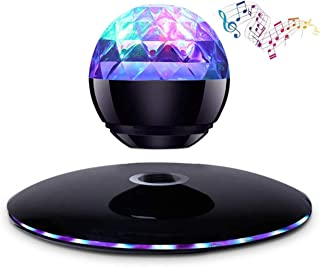 $165 » Magnetic Levitation Bluetooth Speaker Colorful LED Lights Portable Wireless Bass High Fidelity 360 Degree Rotation Surroun...
