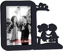 Porta-Retrato Presente Namorado Namorada Casal Preto