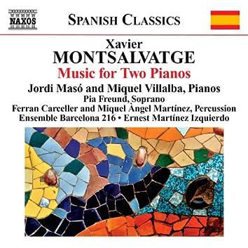 Montsalvatge: Piano Music, Vol. 3: Music for 2 Pianos