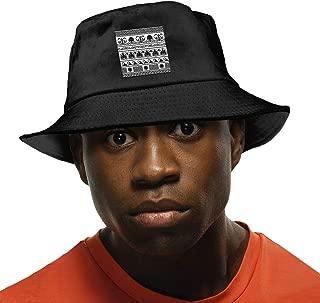Fisherman's Hat Retro Greek Pattern Background Sun Hat for Men Summer Cap Fishing Hat Black
