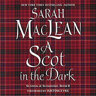 A Scot in the Dark audiobook cover art