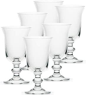 La Rochere Set Of 6, 9-ounce Amitie Stemmed Water Glasses