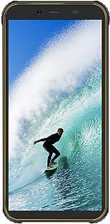 Blackview BV5500 Plus SIMフリー スマホ 本体 防水 防塵 IP68 4G スマートフォン Android 10.0 4G 格安 携帯電話 キイロ