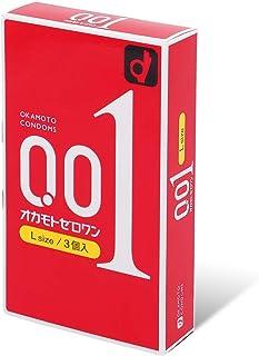 Okamoto Zero One 0.01 mm L Size 3 pieces