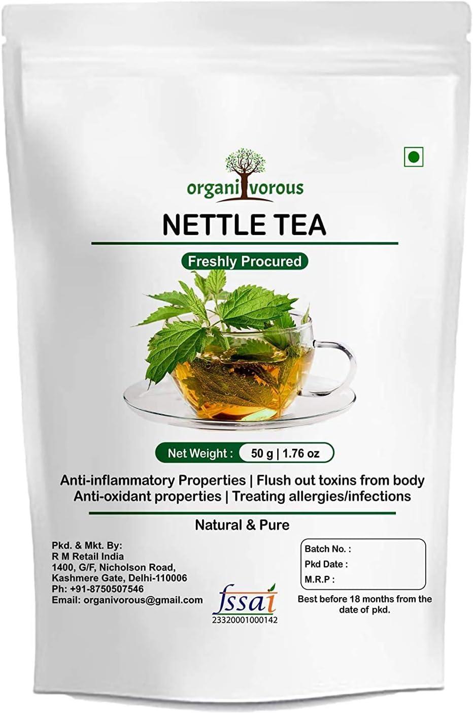 GKH Organivorous Nettle Leaf Mail order Cheap SALE Start Tea Urtica Dioica Herbal