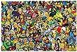Ho-Mer Sim-Pson 1000 Teile Puzzles für Kinder und