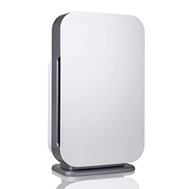 Alen BreatheSmart 45i Air Purifier for Large Rooms up to 800 Sqft, H13 True HEPA, Air Quality Auto Sensor, Removes Allergens while Eliminates Bacteria, Germs, Mold, Odors, in White