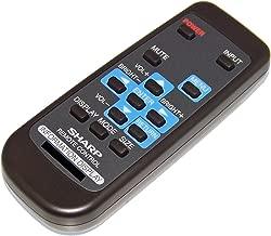 OEM Sharp Remote Control Originally Shipped with PNV551, PN-V551, PNY325, PN-Y325, PNY425, PN-Y425