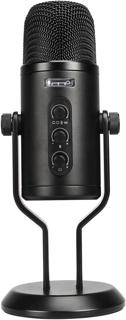 Amazon Basics Professional USB 在庫限り Volume with Microphone Condenser 市場