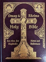 Haydock's Douay & Rheims Holy Bible - Burgandy